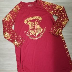 NEW Girls Harry Potter Long Sleeve Night gown